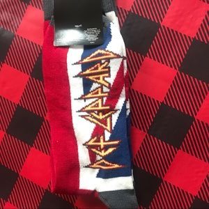 Other - Def Leppard Union Jack Socks